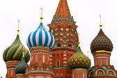 Святого Василия Блаженного в Москве — Стоковое фото