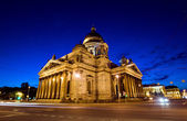 St. Isaac's Cathedral in St. Petersburg, Russia — Foto de Stock