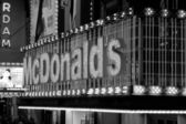 Famous food on Times Square, New York — Stock Photo