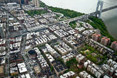 Luchtfoto van manhattan, new york, verenigde staten — Stockfoto