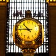 Grand Central terminal clock, New York City — Stock Photo