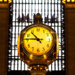 Stock Photo: Grand Central terminal clock, New York City