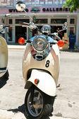Motorbike in Key West — Stock Photo