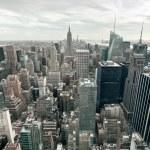 Manhattan buildings, New York City, USA — Stock Photo