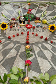 Strawberry Fields in Central Park, New York — Stock Photo