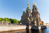 Church of the Savior, St Petersburg — Stock Photo