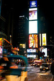 Times Square at night New York, USA — Stock Photo