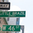 SOHO street signs and some stickers on them — Stock Photo #32368733