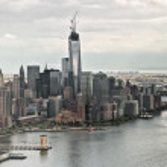 One World Trade Center under construction — Stock Photo