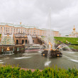 Fountain of Samson in Peterhof  — Stock Photo