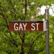 Iconic Gay Street in Greenwich Village, New York, USA — Stock Photo
