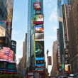 Street life at Times Square in New York, USA — Stock Photo