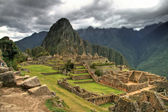 Machu Picchu and its splendor in Cusco, Peru — Stock Photo