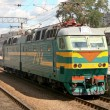 Train in Yaroslavsky railway station, Moscow — Stock Photo #40035989
