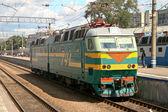 Train in Yaroslavsky railway station, Moscow — Foto de Stock