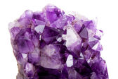 Detail of amethyst — Stock Photo
