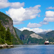 Sailing in Bergen Fjord — Stock Photo #22604321