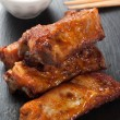 Stock Photo: Barbecue pork ribs