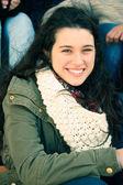 Happy teen girl — Стоковое фото