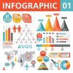 Infographic Elements 01 — Stock Vector