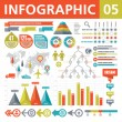 Infographic Elements 05 — Vector de stock #23136548