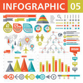 Infographic Elements 05 — Stockvector