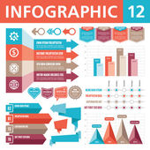 Infographic element 12 — Stockvektor
