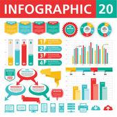信息图表元素 20 — 图库矢量图片