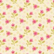 Floral Seamless Pattern 04 — Stock Vector