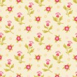 Floral Seamless Pattern 06 — Stock Vector