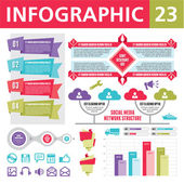 Infographic element 23 — Stockvektor