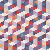 Geometric Background - Seamless Pattern — Stock Vector