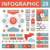 Infographics element 28 — Stockvektor