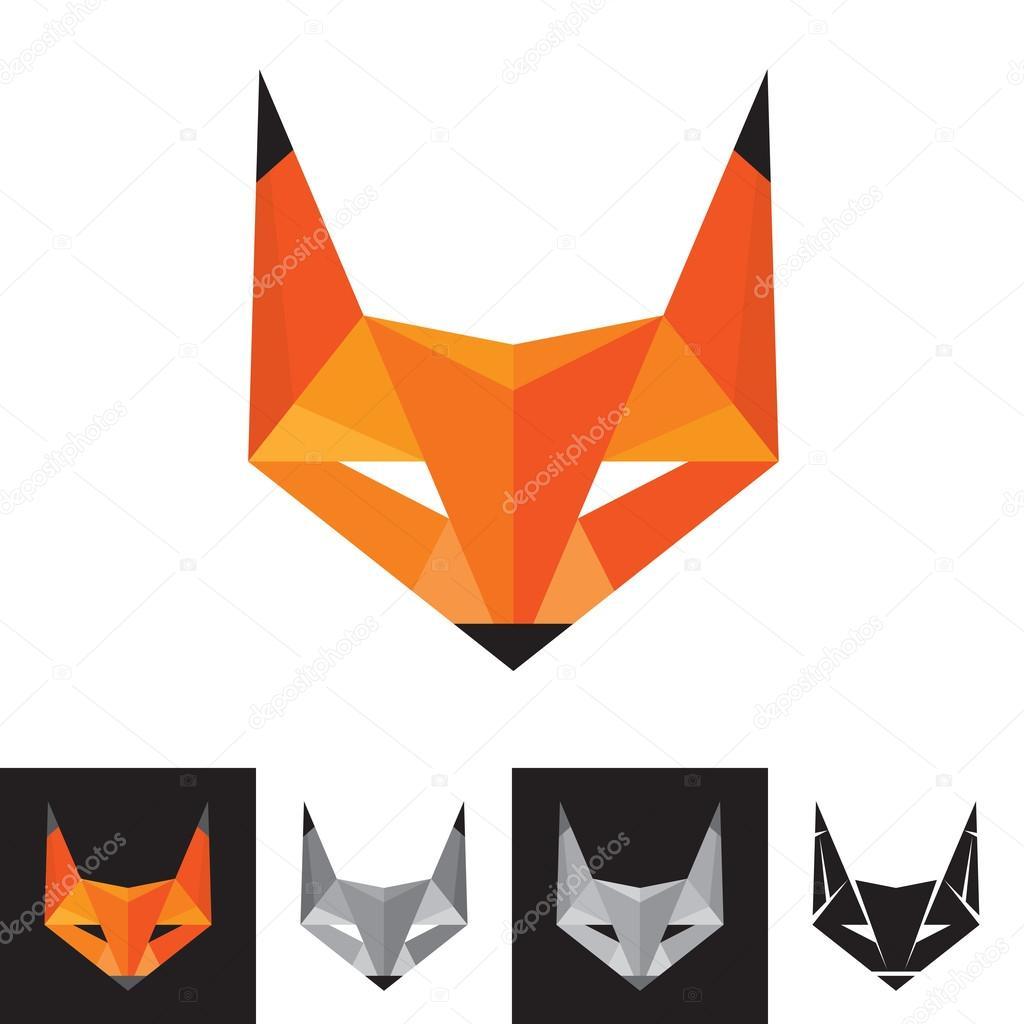 Fox Logo - Geometric Sign — Stock Vector © serkorkin #27909137 - photo#46