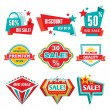 Sale & Discount Badges - Abstract Vector Signs — Stock Vector #28199503