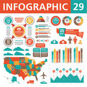Infographic Concept 29 — Stock Vector