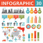 Infographics element 30 — Stockvektor