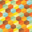 Geometric Background - Abstract Seamless Pattern — Imagens vectoriais em stock