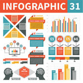 Infographic element 31 — Stockvektor