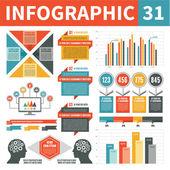 Infographic Elements 31 — Stock Vector