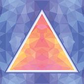 Geometric Background - Vector Pattern — Stock Vector