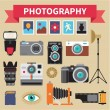 Photography - Icons Vector Set - Creative Design Pictures — Stock Vector #35504977