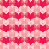 Seamless Vector Pattern for Valentine's Day — Cтоковый вектор