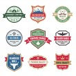 Badges Collection in Vector Format for Different Design Works — Stock Vector #41605031