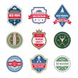 Badges Collection in Vector Format for Different Design Works — Stock Vector #41605043