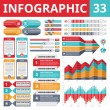 Постер, плакат: Infographics Elements 33 Set of Design Elements