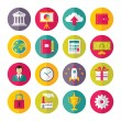 Icons Vector Set in Flat Design Style - 02 — Stock Vector #45928503