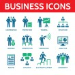 12 Vector Business Icons - Business People Illustration — Stock Vector #48398967