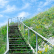 Stairway to sky - Stock Photo
