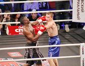 Boxe professionistica — Foto Stock